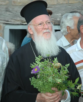 His All-Holiness, Patriarch BARTHOLOMEW, Archbishop of Constantinople and Ecumenical Patriarch